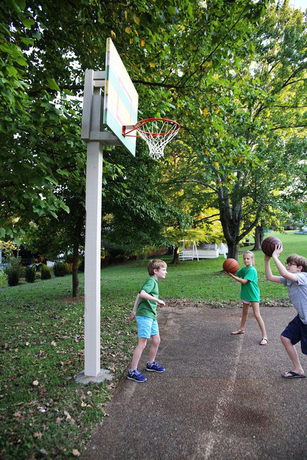 20 Coolest Basketball Court Ideas For Your Backyard Homemydesign