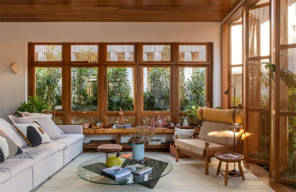 Nature Inspired Living Room Design Homemydesign