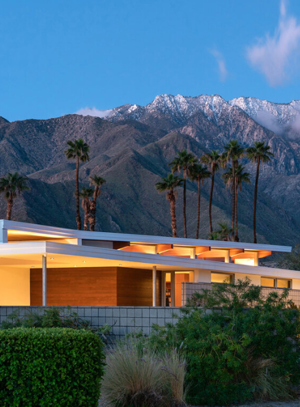 Axiom Desert House That Blending Indoor And Outdoor Living