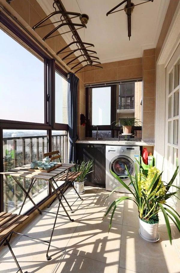 20 Fresh Balcony Laundry Ideas For Summer Fun