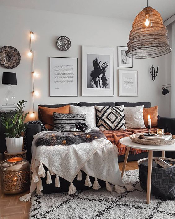 27 Magical Ways To Decorate Your Home With String Lights
