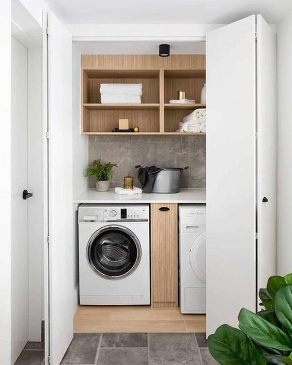 38 Small Laundry Room Ideas That Make It Feel Bigger