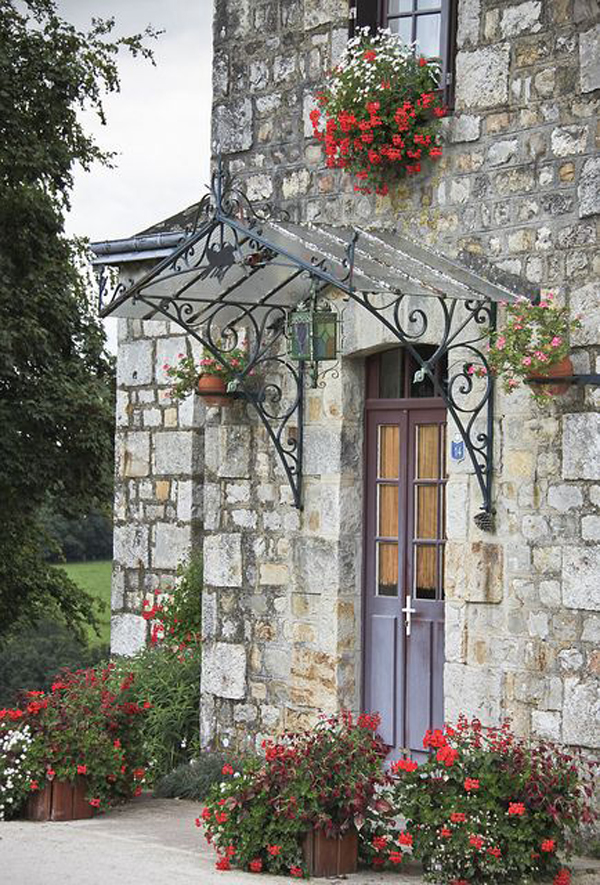 21 Inspiring Door Canopy Ideas For Small Space