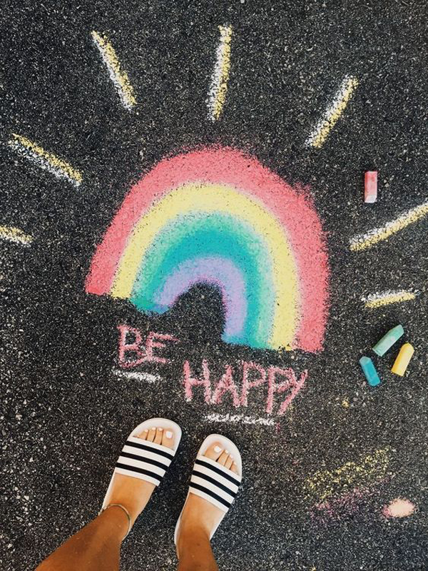 42 Seriously Cool Chalk Art Ideas For Your Sidewalk
