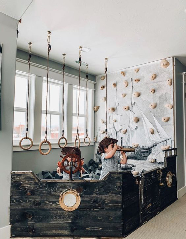 30 Pirate Kids Bedroom Themes For Adventure Dreaming