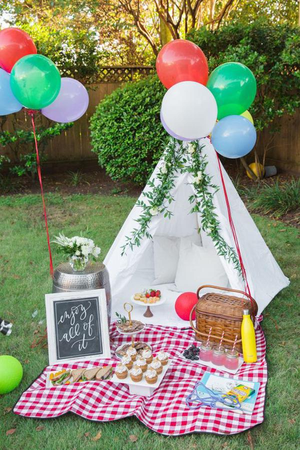 25 DIY Backyard Teepee Like A Holiday For Kids