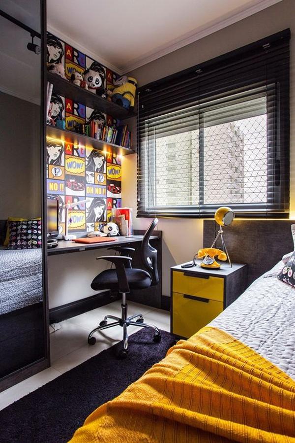 35 Simple But Cozy Teen Boys Bedroom To Get Inspired