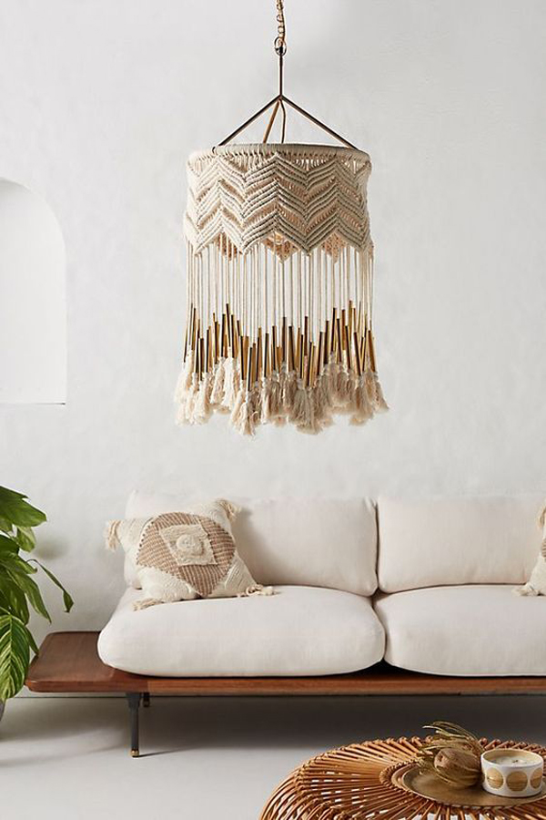 7 Chic Ways To Use Macrame Into Your Decor