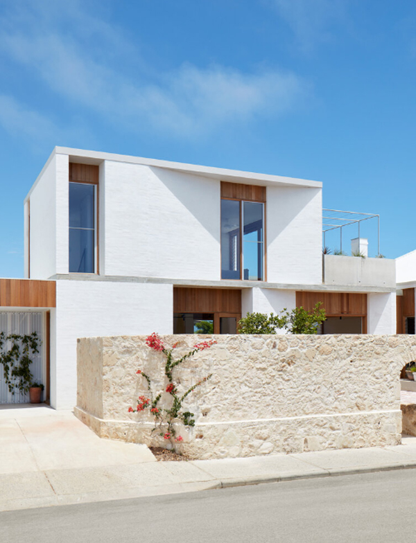 Simple And Warm Home Extension – Marine By David Barr Architects