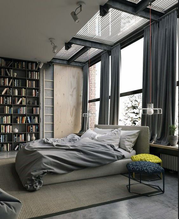 25 Masculine Bedroom Ideas That All Men Must Know Homemydesign