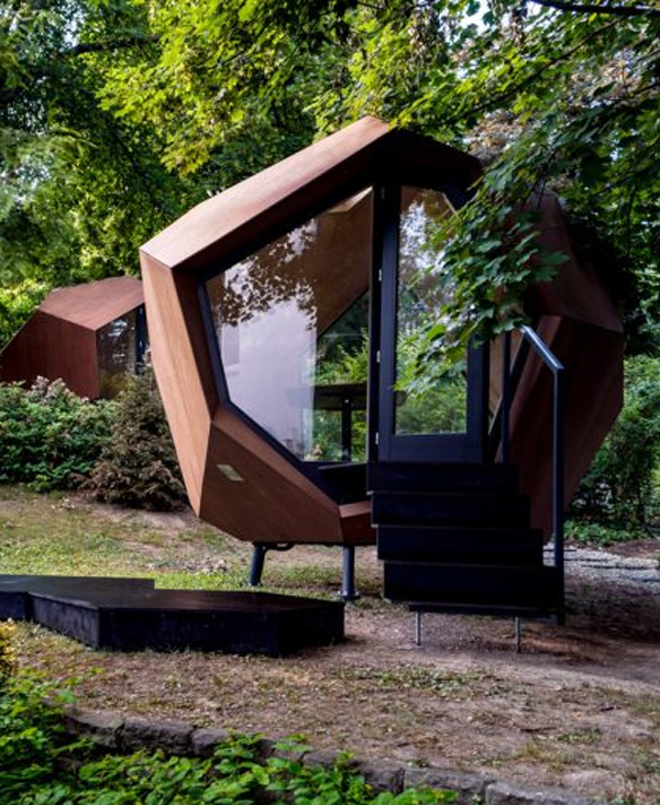Workstation Cabin Geometric Home Office Pod In Your Outdoor Homemydesign