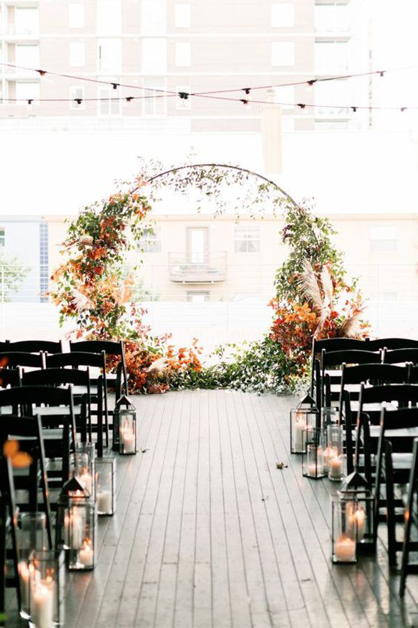 30 Beautiful Fall Wedding Ideas For The Most Memorable Moments Homemydesign