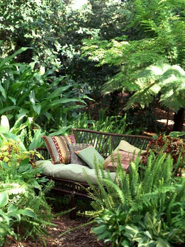 secret-garden-ideas-with-vintage-reading-chairs - HomeMydesign