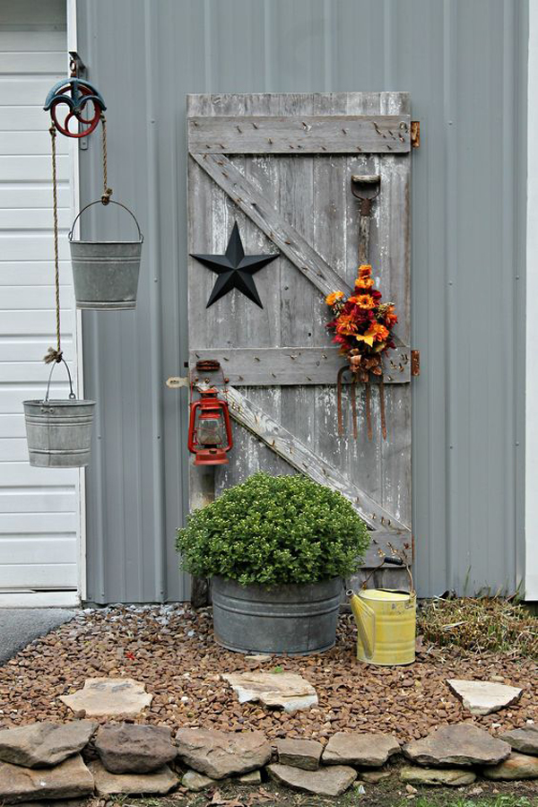 27 Repurposed DIY Junk Gardens With Rustic Style