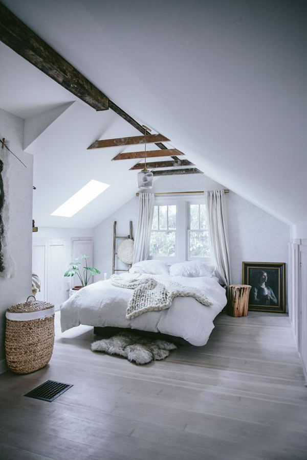 10 Creative Ways To Decorate The Attic Into A Functional Space
