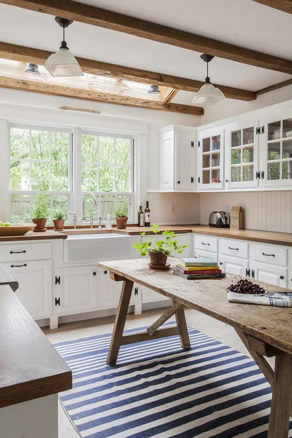 25 Best Modern Farmhouse Kitchens Trending On Pinterest