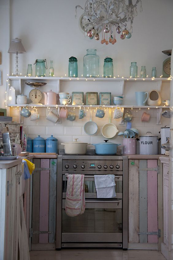 30 Timeless Shabby Chic Kitchen Designs Dedicated For Moms
