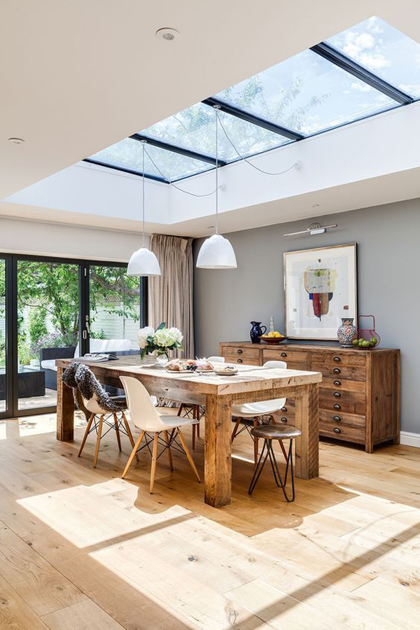 How To Make Light Filled House Extension Feel Spacious