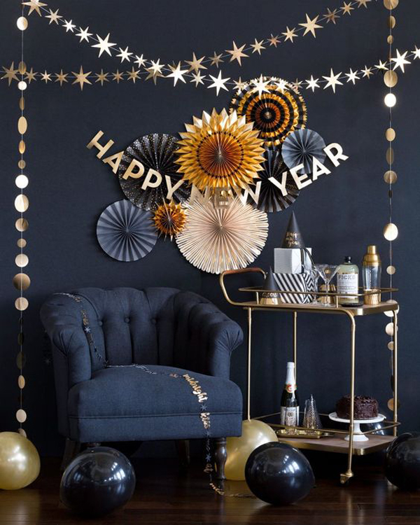 Creative Ways To Decorate Your Home For This New Year's
