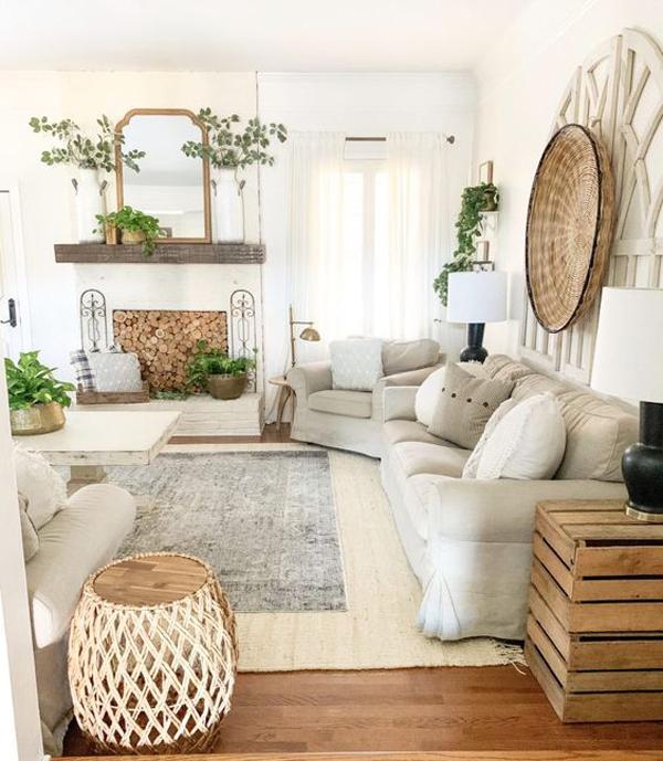 boho-spring-living-room-design