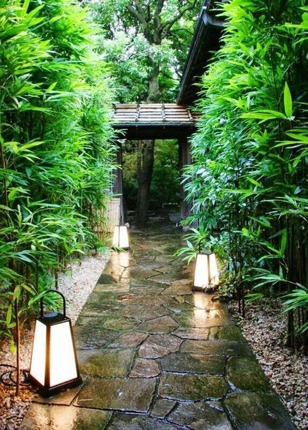 japanese-side-yard-with-lush-lanters