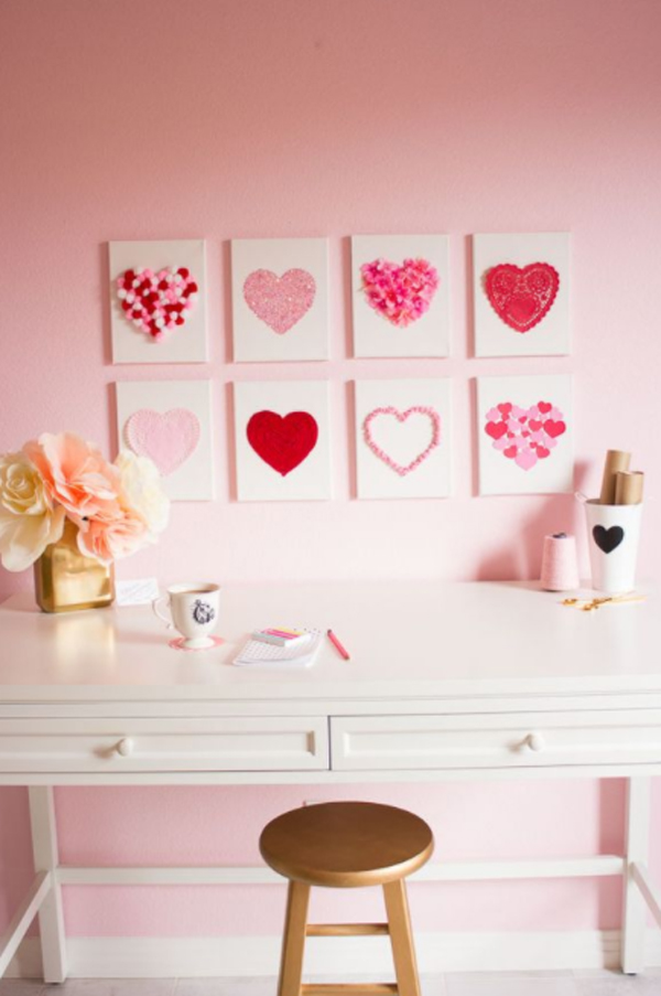 31 Valentine's Day Crafts That Are Easy For Everyone