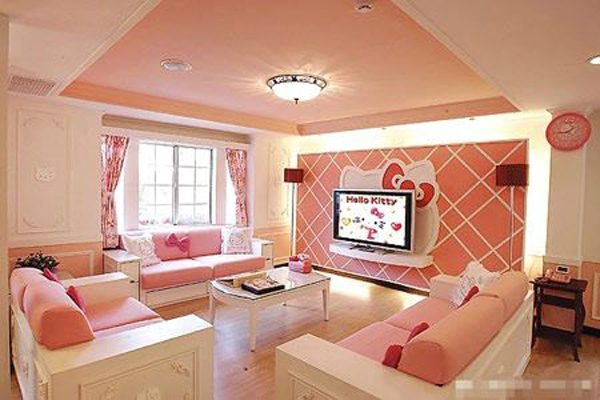 modern-hello-kitty-living-room