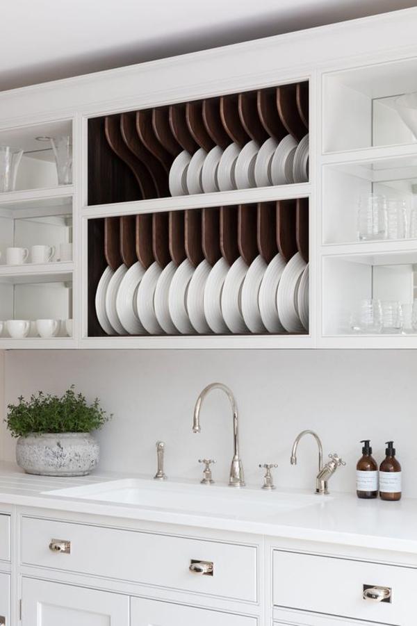 stylish-white-dish-rack-and-cabinet