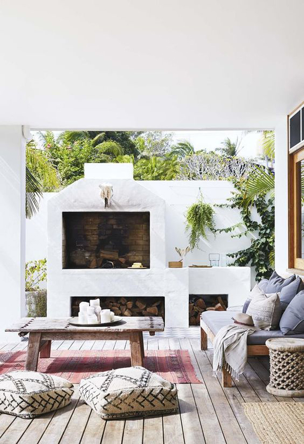 summer-patio-lounge-areas-with-fireplace