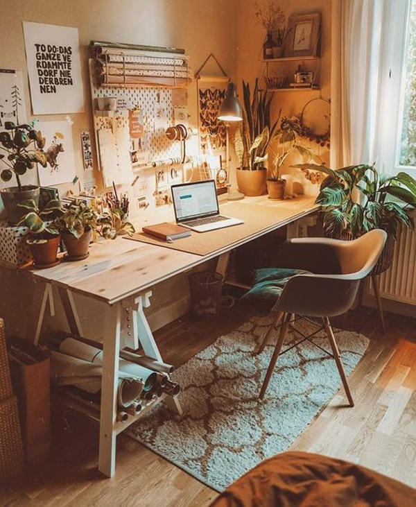 30 Boho Office Ideas To Keep Up Your Spirit