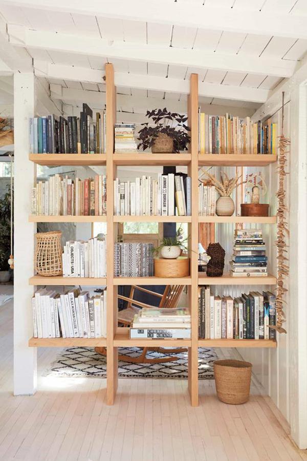 wooden-book-shelves-for-room-divider