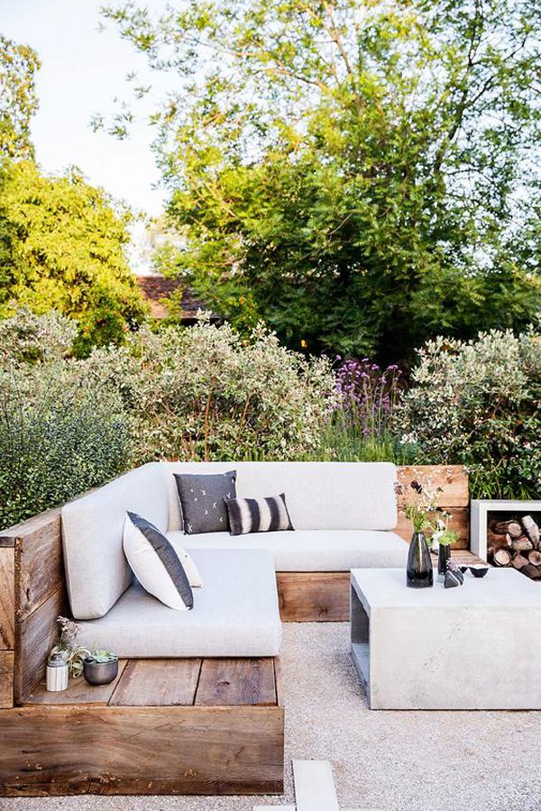 wooden-corner-benches-for-summer-garden