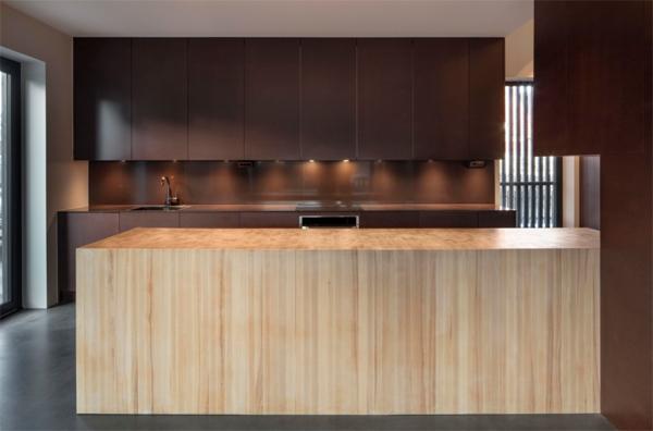 contempory-wooden-kitchen