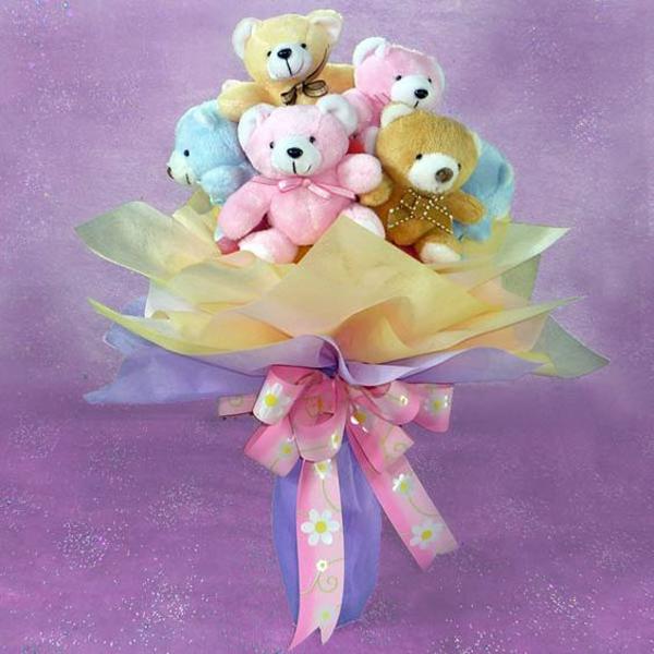 dool-bouquet-flower-for-valentine-day-gift
