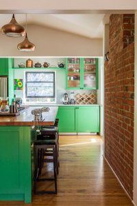 favorite-green-kitchen-color-with-brick-exposed