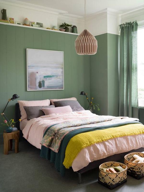 green-bedroom-styles