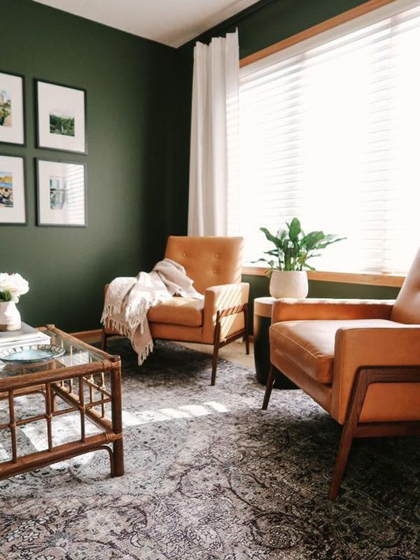 inspiring-green-living-room-decor