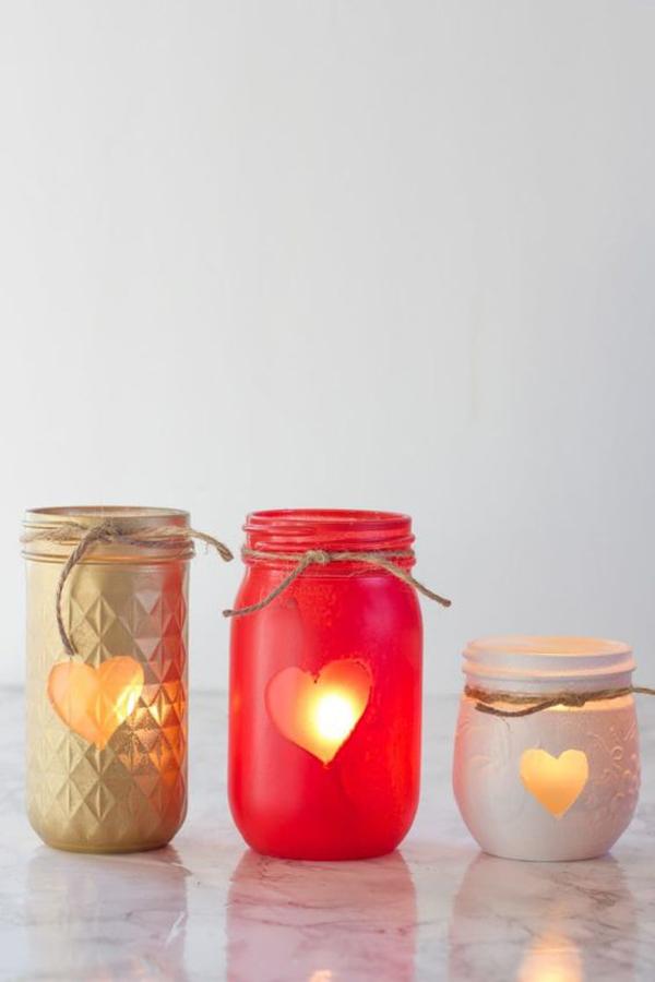 romantic-mason-jars-candle-holder
