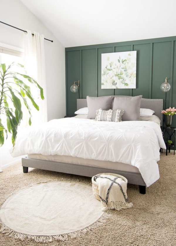 simple-farmhouse-bedroom-with-green-color-acccent