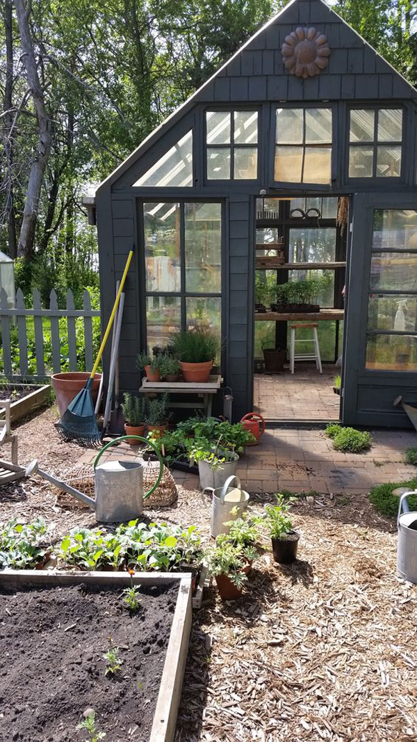 small-backyard-greenhouse-for-your-gardening
