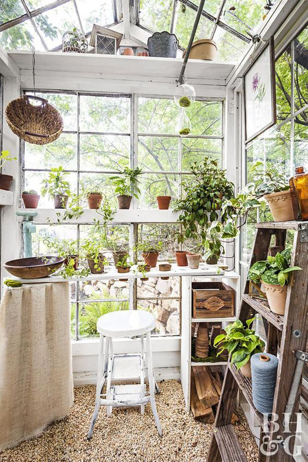 small-glass-greenhouse-ideas