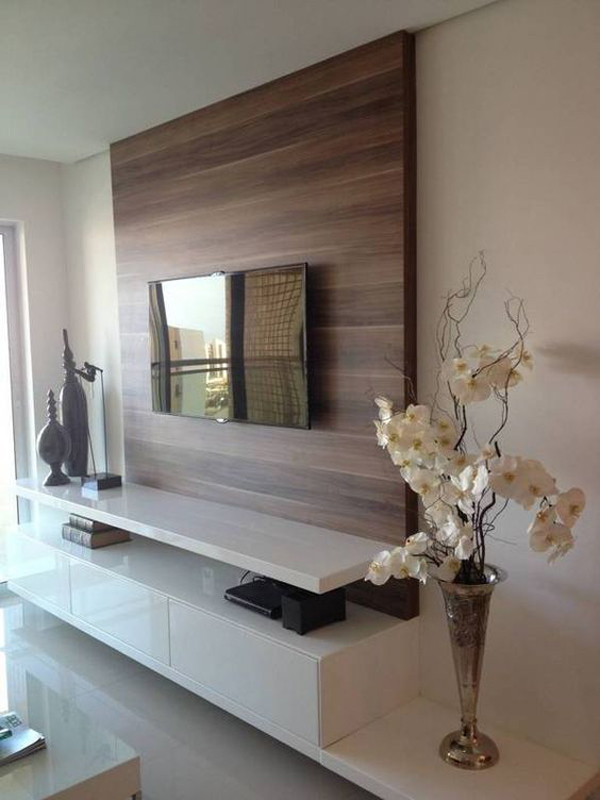 TV-wall-paneling-wood