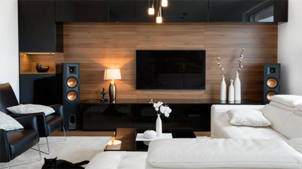 black-wood-tv-backdrop