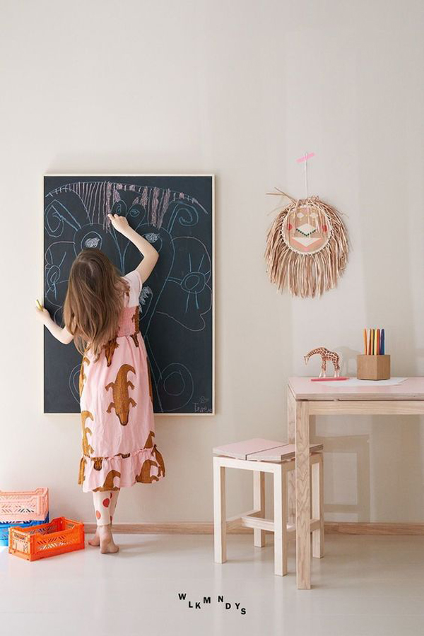 boho-chic-rooms-with-chalkboard-ideas