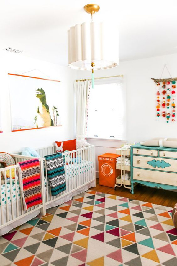 bright-and-colorful-twin-nursery-ideas