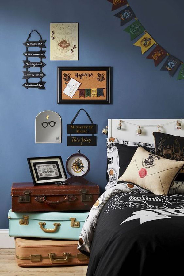 cool-harry-potter-bedroom-theme