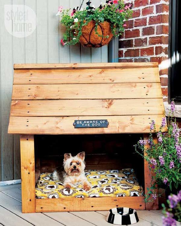 cozy-wood-dog-house-in-backyard