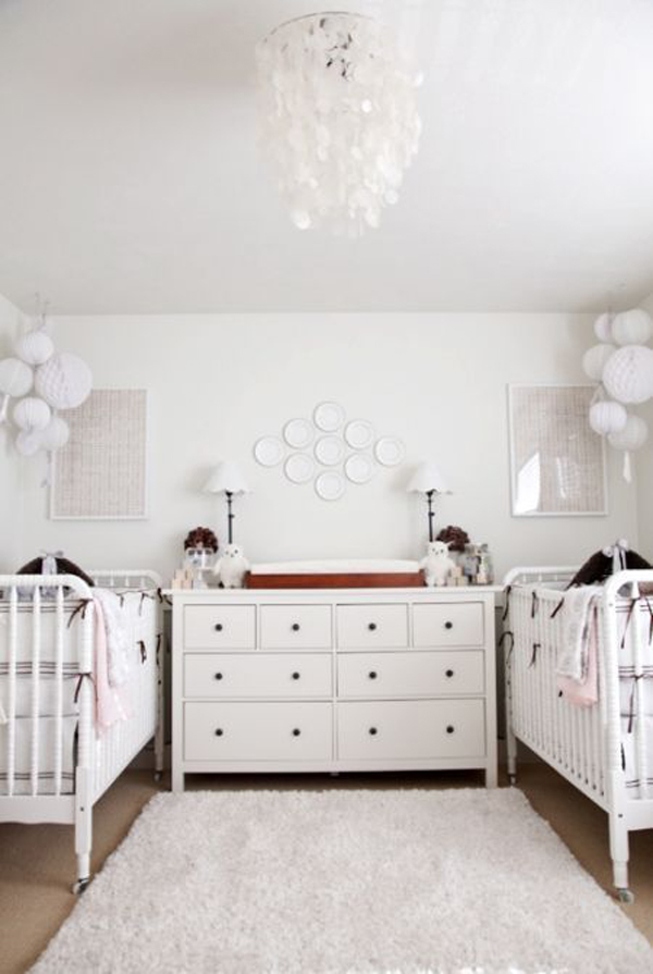 cute-twin-nurseries-with-cabinet-organize