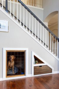 dog-crate-under-the-stairs