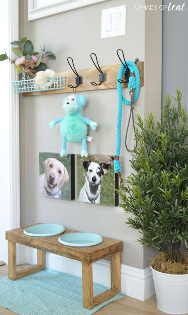 farmhouse-style-dog-food-station